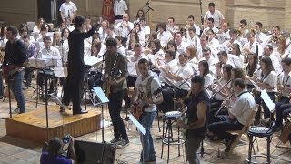 preview picture of video 'Malsujeto y La Artística de Buñol-Concierto para grupo de rock y banda sinfónica (Jon Lord)'
