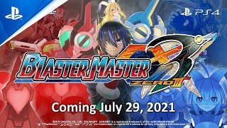 PlayStation Blaster Master Zero 3 - Announcement Trailer | PS4 anuncio