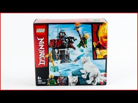 Vidéo LEGO Ninjago 70671 : L'épopée de Lloyd