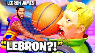I Pretended To Be LeBron James.. (Ends Bad)