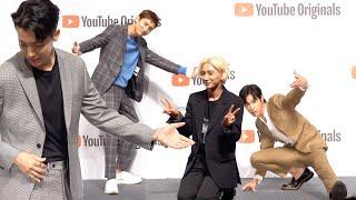 "'Analog Trip', TVXQ x SUPER JUNIOR ""AGAIN 2002"" Photo Time(Press Conference)"
