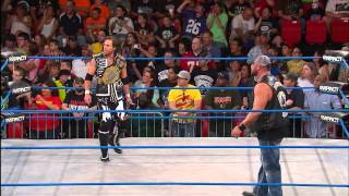 Brooke Hogan drops a bombshell on Bully Ray (August 8, 2013)