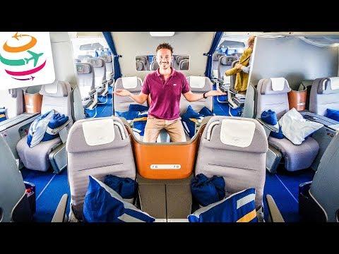 5 Sterne würdig? Lufthansa Business Class A350 von Seoul nach München | GlobalTraveler.TV