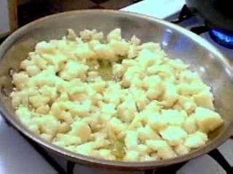 Cauliflower Spaghetti Aglio Olio