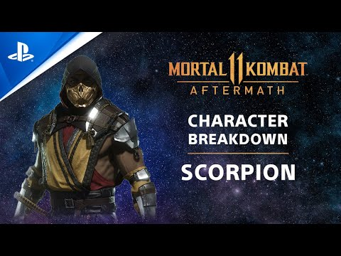 Mortal Kombat 11 Aftermath Competition Center Character