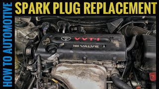 How to Replace the Spark Plugs on a 2002-2011 Toyota with a 2.4L Engine (2AZ-FE)