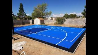 Versacort Basketball court | unboxing this amazing court.