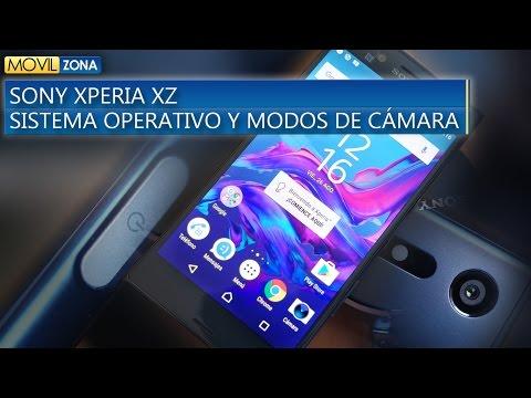SONY XPERIA XZ Sistema Operativo y Modos de Cámara