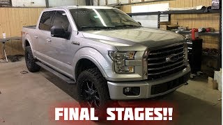 Rebuilding a Wrecked 2016 Ford F150 Part 7