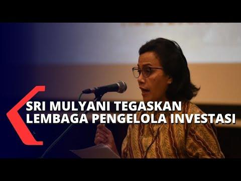 Sri Mulyani Tegaskan Lembaga Pengelola Investasi Akan Pola Equity Funding