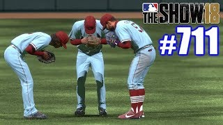 CARDINALS ON A ROLL! | MLB The Show 18 | Road to the Show #711