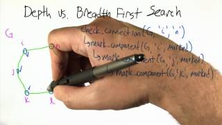Depth vs Breadth First Search - Intro to Algorithms