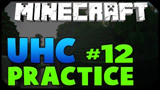 Minecraft: ULTRA HARDCORE PRACTICE #12 [BEST LEVEL 8 ENCHANT] w/ AciDic BliTzz! (Survival)