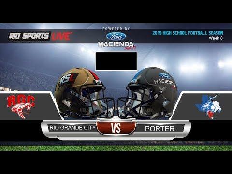 Rio Grande City vs Brownsville Porter High school football week 8