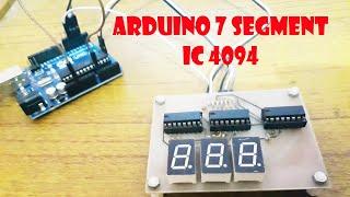 ARDUINO 7segment IC 4094