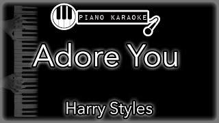 Adore You - Harry Styles - Piano Karaoke Instrumental