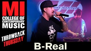 In today's TBT we learn that everyone needs to be a little more like BReal of Cypress Hill