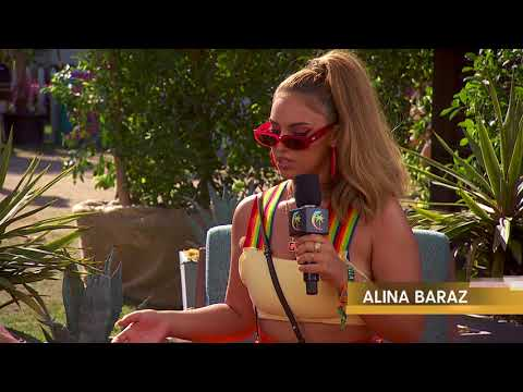 Alina Baraz Interview - Coachella 2018