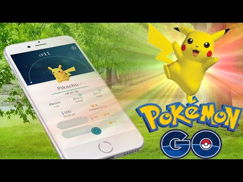 HOW TO CATCH PIKACHU Secret Easter Egg - Pokemon Go In Real Life