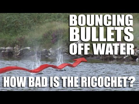 Bouncing Bullets off Water