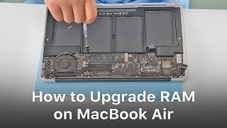 How To Upgrade RAM On MacBook Air?