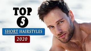 BEST Short HAIRSTYLES For Men In 2020