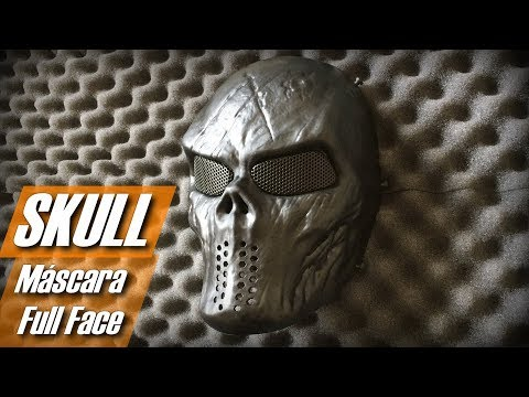 Skull Mask (Máscara full face/telada para airsoft)