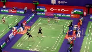 Hong Kong Open 2018 MD Marcus Gideon/ Kevin Sanjaya vs Mathias Boe/ Carsten Mogensen