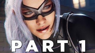 SPIDER-MAN PS4 THE HEIST DLC Walkthrough Gameplay Part 1 - BLACK CAT (Marvel
