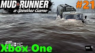 SpinTires Mud Runner: Xbox One Let's Play! Part 21 | DELUGE EXPLORATION!