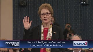 House Impeachment Inquiry - Yovanovitch Testimony