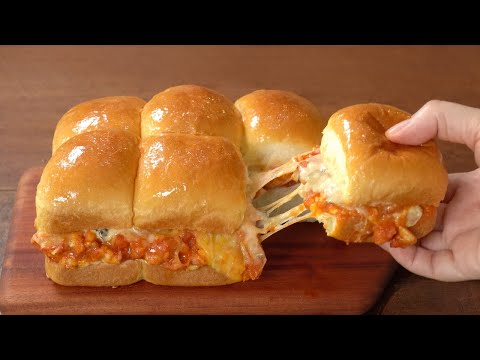 Milk Rolls and Easy Chicken Burger Recipe