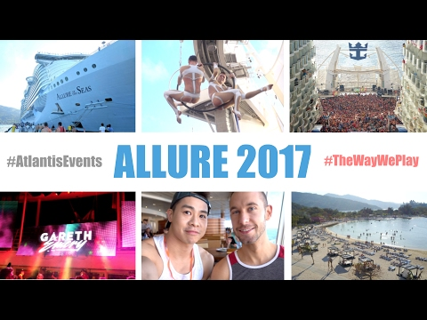 Start to Finish: Atlantis Allure Caribbean Gay Cruise January 2017