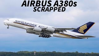FIRST A380s To Be BROKEN UP For PARTS