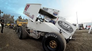 GoPro: Kyle Larson Rips Up Sprint Car Dirt Track - dooclip.me