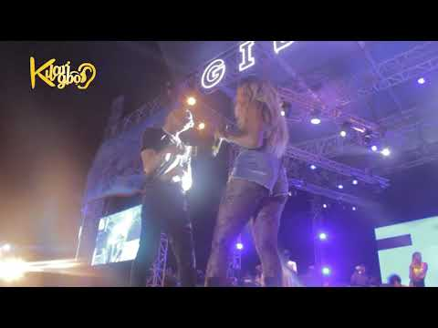 Wizkid And Tiwa Savage Romantic Moments On Stage @ GidiFest 2018 {Nigerian Entertainment}