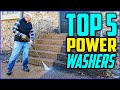 Top 5 Best Power Washer in 2020