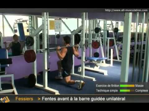 Lextension du muscle fessier du yogi