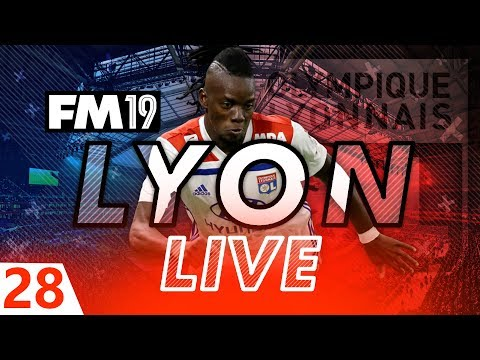 Football Manager 2019 | Lyon Live #28: Calm Before The Storm #FM19