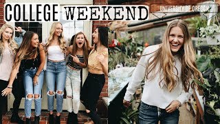 A WEEKEND IN MY LIFE AT THE UNIVERSITY OF OREGON!