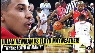 JULIAN NEWMAN CALLS OUT FLOYD MAYWEATHER THEN CROSSED HIM UP!! FLOYD RESPONDED BACK!