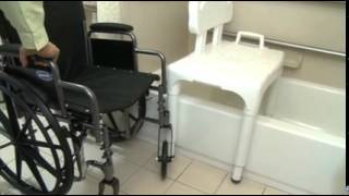 Tub and shower transfers using a Transfer Bench