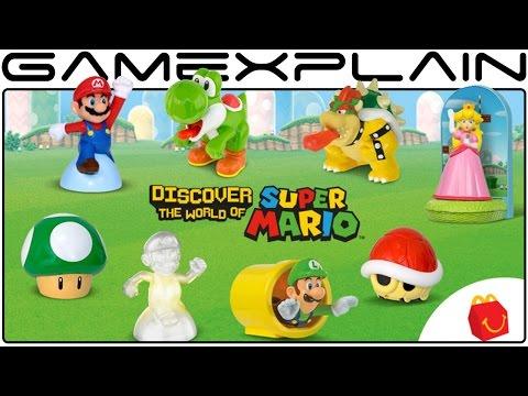 McDonald's Super Mario Happy Meal Toy Unboxing