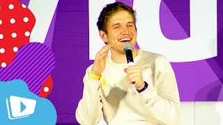 """Bo Burnham Thinks Self Obsession Is The Norm Today """"Eighth Grade"""" Q&A at VidCon"""