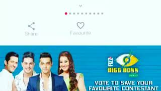 How to vote luv Tyagi in bigg boss 11