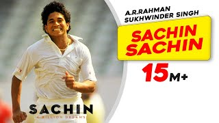 Sachin Sachin Song - Sachin A Billion Dreams | A R Rahman, Sukhwinder Singh