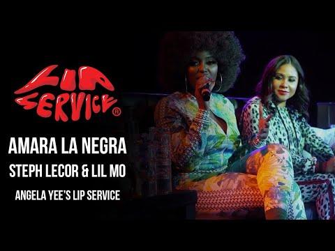 Angela Yee's Lip Service Live Ft. Amara La Negra, Steph Lecor, & Lil Mo