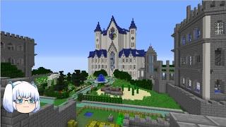 【minecraft】「ZODIAC」ゆっくり1人が異世界冒険へ part28「光の宮殿へ」