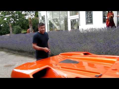 Cực kỳ ngạc nhiên khi chạm mặt siêu xe hàng nhái Lamborghini