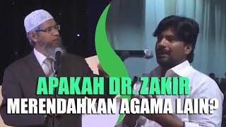 """Video """"Dr. Zakir Naik, Kenapa Anda Suka Menghina Agama Kristen?"""" Tanya Bapak Ini MP3, 3GP, MP4, WEBM, AVI, FLV September 2019"""